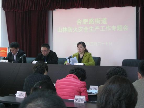 路街道办事处召开山林防火安全生产工作会议-青岛